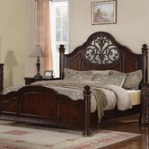 Heritage Manor Panel Bed