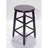 24&quot; Round Top Backless Barstool
