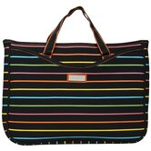 Large Neoprene Laptop Sleeve in Pencil Stripes Tropical