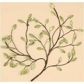 Green Leaves Wall Art - 26.5&quot; x 26&quot;