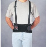 Spanbak&reg; Black 9&quot; Back Support W/Suspenders Size Large 40&quot; To 44&quot;