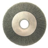 "Medium Face Crimped Wire Wheels-DA Series - da7 .0118 crimped wire wheel 2"" arbor ho"