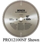"Professional Series Circular Saw Blade For Non-Ferrous Metal/Plastic Cutting With 40 TPI, Dx5/8"" Arbor, 5° Hook Angle"