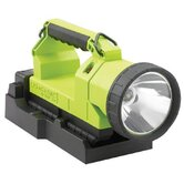 4 Cell LED Lantern w/ 120V AC Charger (High Vis Green)
