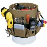 Bucket Organizers - 48-pocket bucket pocketsin &amp; out
