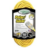 Coleman Cable - Polar/Solar Extension Cords 16/3 50' Sjeow Polar/Solar Extension Cord: 172-01288 - 16/3 50' sjeow polar/solar extension cord