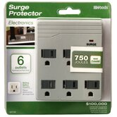 Front Entry Surge Protector Wall Adaptor