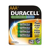 Rechargeable Nimh Batteries with Duralock Power Preserve Technology, Aaa, 4/Pack
