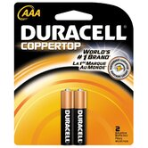 AAA Cell Coppertop Alkaline Battery (Set of 2)