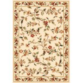 Cambridge Ivory Floral Vine Rug