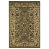 Cambridge Green/Taupe Kashan Rug