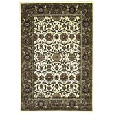 Cambridge Ivory/Green Floral Agra Rug