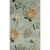 Catalina Paradise Floral Novelty Rug