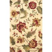 Catalina Ivory Mums Rug