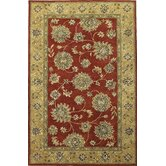 Kasmir Sienna Red/Gold Allover Kashan Rug