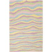 Kidding Around Pastel Waves Kids Rug