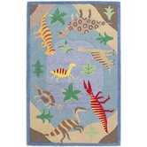 Kidding Around Dinosaur Fun Kids Rug