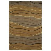 Signature Earthtone Waves Rug