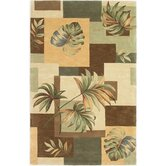 Sparta Earthtone Foliage Views Rug