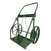 300 Series Continuous Handle Hand Truck For Medium And Large Cylinders With 18&quot; Steel Wheels