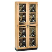 Micro-Charger Glass Door Cabinet