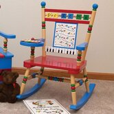 Rock A Buddies Musical Kid Rocking Chair