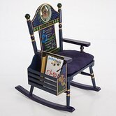 Rock A Buddies Time to Read Kid's Rocking Chair