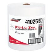 WypAll&reg; X80 Shop Towels - wypall x80 shop pro jumbo roll white 475 per rol