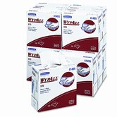 WYPALL X70 Wipers, Pop-Up-Box, 9.1 x 16.8, White, 100/Box