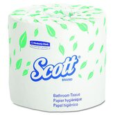 Scott Standard Bath Tissues in White