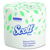 Scott Standard Roll Bathroom Tissues in White