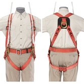 Full-Body Fall-Arrest/Suspension Harness - rescue harness