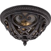 French Quarter  Outdoor Flush Mount