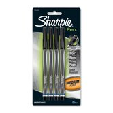 Sharpie Pen, Permanent, Medium Point, 4/PK, Blue