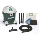12 Gallon 4.5 Peak HP Quiet Plus Wet / Dry Vacuum