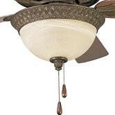 Savannah Two Light Bowl Ceiling Fan Light Kit