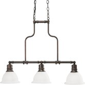 Madison 3 Light Kitchen Island Pendant