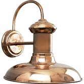 Brookside Copper  Outdoor Wall Lantern