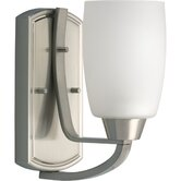 Westin  CFL Wall Sconce in Brushed Nickel - Energy Star