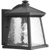 Mac One Light Outdoor Lantern in Textured Black Powder Coat