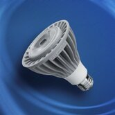 PAR30 15 Watt Long Narrow Flood Beam LED Bulb with 25 Degree Beam Angle in White