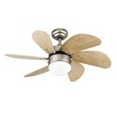 30&quot; Turbo Swirl 6 Blade Ceiling Fan