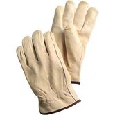 X-Large Tan Grain Pigskin Unlined Gunn Cut Drivers Gloves With Keystone Thumb And Bound Hem