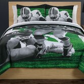 Photoreal Football Running Back Comforter Set