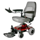 Jimmie Power Chair with Captain Seat in Red