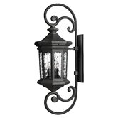 Large Wall Lantern in Museum Black - Energy Star Optional