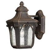 "Trafalgar  10"" x 6"" Outdoor Hanging Lantern in Mocha"