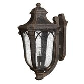 "Trafalgar 26.5"" x 12"" Outdoor Hanging Lantern in Mocha - Energy Star Optional"