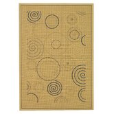 Courtyard Circles Rug