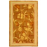 French Tapis Yellow Rug